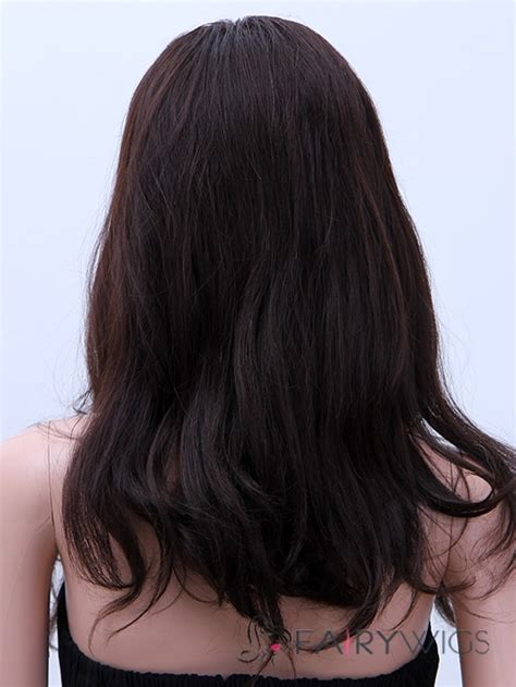 Sephia Lace Black ancient medium wavy sepia american lace wigs for