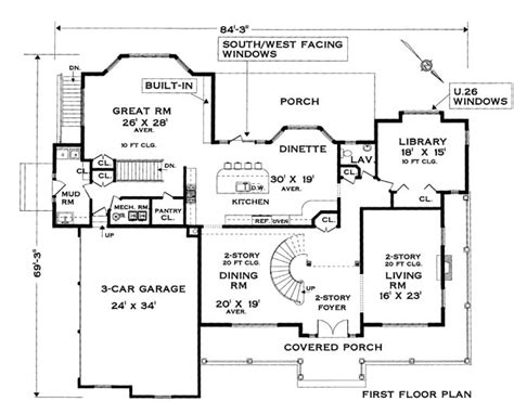 colonial home floor plans five bedroom colonial house plan
