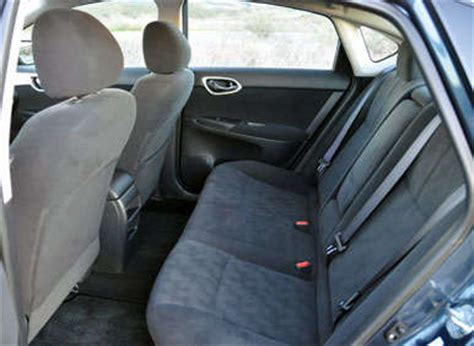 2014 nissan sentra interior backseat 2013 nissan sentra road test and review autobytel com