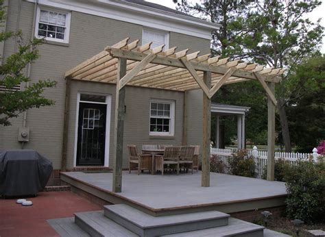 pergolas in north carolina are good for shade we build