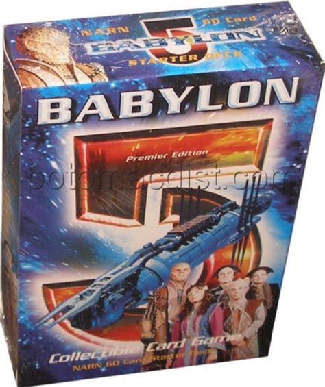 babylen decke babylon 5 premier starter deck set narn potomac