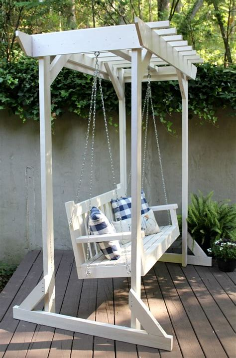 how to hang porch swing 25 breathtaking diy outdoor furniture ideas