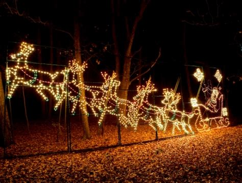 where to see christmas light shows in the upstate