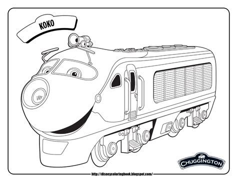 chuggington coloring train pages chuggington 1 free disney coloring sheets team colors