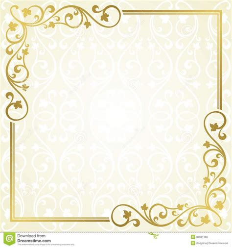 caption template card design ideas soft gold colored invitation