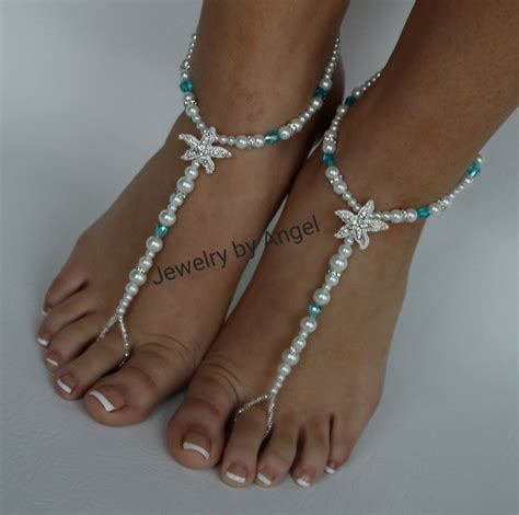 starfish sandals wedding starfish foot jewelry sandal anklet wedding foot