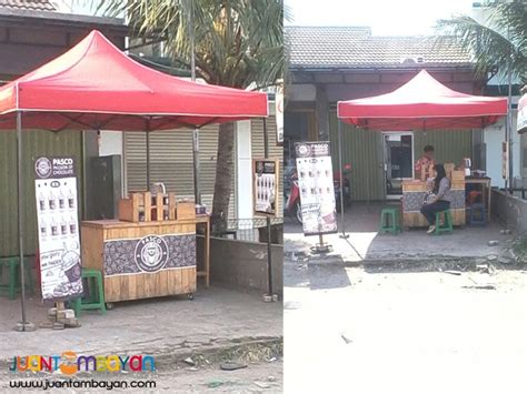 Tenda Gazebo Lipat foldable tent folding canopy retractable bazaar tiangge malabon adoke