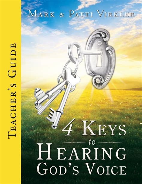 listening for god s voice a discipleship guide to a closer walk jesuswalk bible study series books 4 to hearing god s voice s guide
