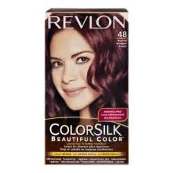 hair dye colors walmart revlon colorsilk 48 burgundy permanent hair color 1 0 kit
