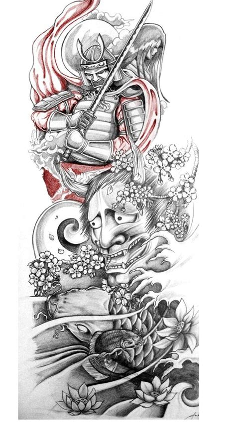 modern japanese tattoo designs sleeve by liquidliam on deviantart tattoos