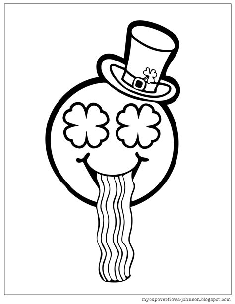 st day coloring pages free my cup overflows st s day coloring pages