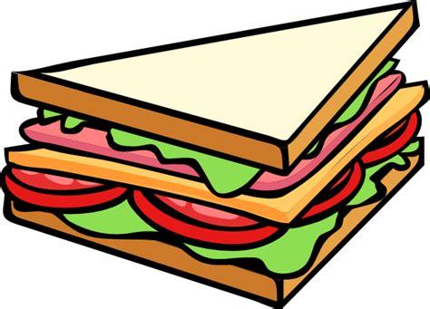 Sandwich Clip by Sandwich Half Clip At Clker Vector Clip