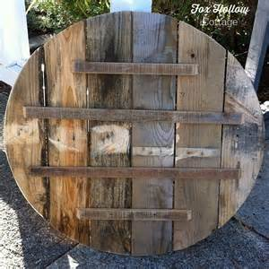 House Plan Ideas how to make pallet wood into a round circle shape fox