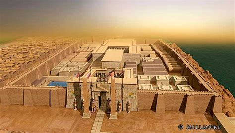 Floor Plan Creator by Rebuilding Ancient Egyptian Temples In 3d