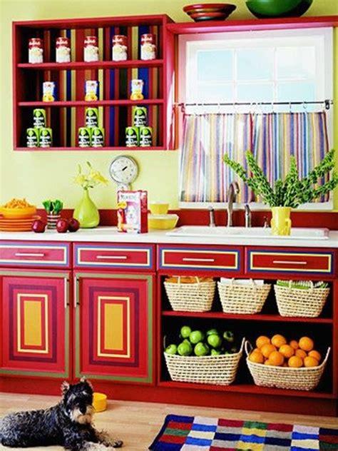 multi color kitchen cabinets amazing vibrant and multi colored kitchen decorative ideas