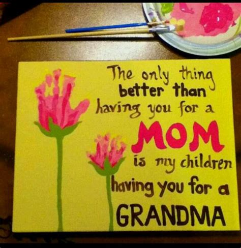 Sweet Gifts To Make For Mothers Day mothers day gift crafts for the kiddos