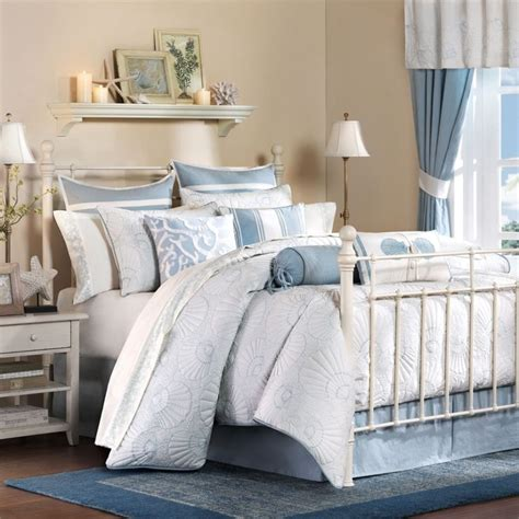 bedroom blue white bedroom charming bedroom idea using white iron bed frame