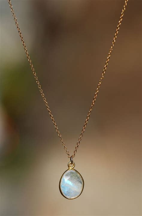 1000 ideas about moonstone necklace on