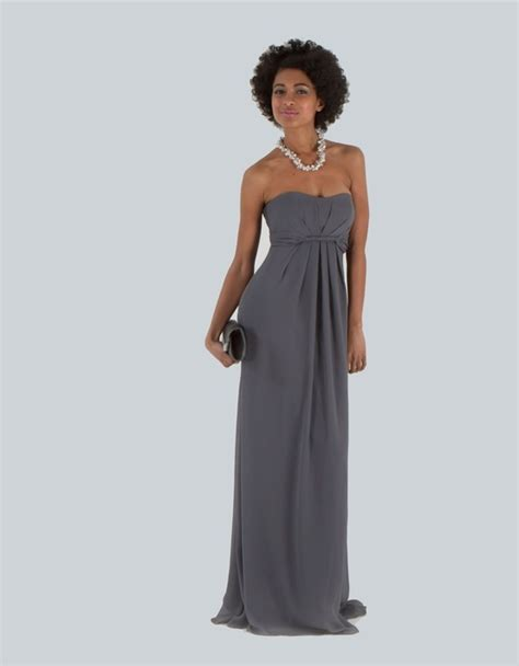 1000 ideas about pewter bridesmaid dresses on