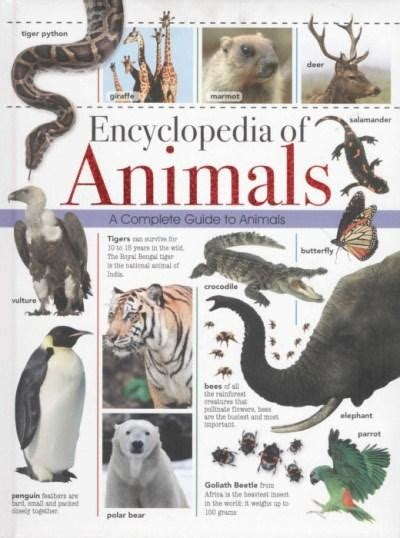 booktopia encyclopedia of animals a complete guide to