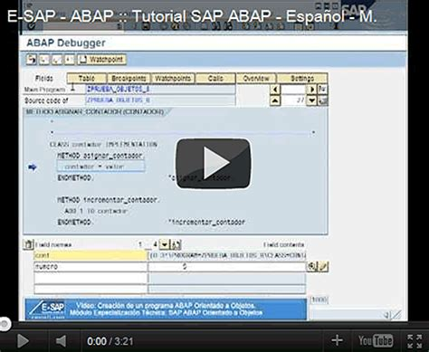tutorial on sap abap tutorial en sap abap mi primer programa en abap orientado