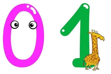 printable numbers with animals funny numbers with animals 1 171 preschool and homeschool