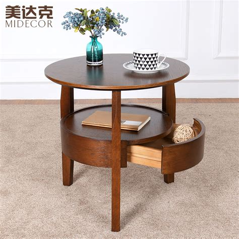 round living room table small round table wooden coffee table minimalist living