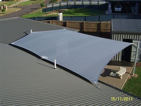 anchor shade sail to tiled roof 10 best shade sails images on shade sails sun
