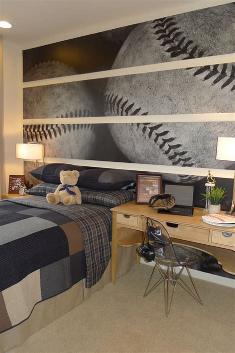 baseball themed bedrooms boys baseball theme rooms design dazzle