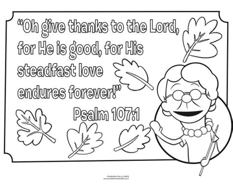 fall coloring pages christian bible coloring page for thanksgiving psalm 107 1 fall