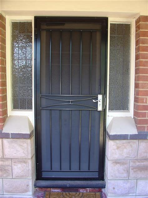 Securing Doors by Aluminium Wrought Iron Security Doors Wingfield