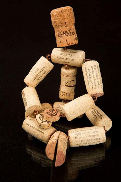 crafts made with wine corks crafts made from corks from wine miniature diy is