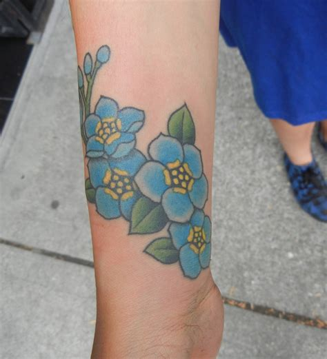 forget me not flower tattoo forget me not best design ideas