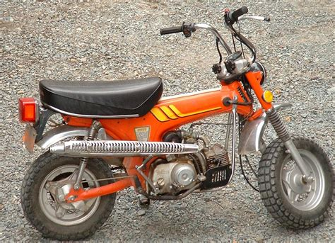 Motorrad 70er by Ideal Bikes Honda 70