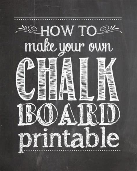 diy chalkboard photoshop how to make a chalk board printable tip junkie