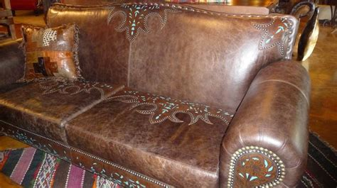 Lys Chocolate Tooled Leather Sofa For The Home Pinterest Tooled Leather Sofa