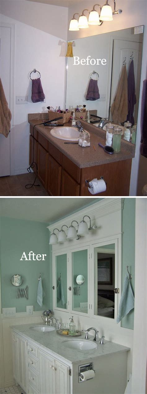 Before After Bathroom Makeovers by Before And After 20 Awesome Bathroom Makeovers Hative