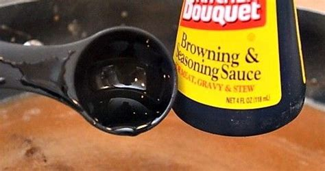 Kitchen Bouquet Sauce Substitute Browning Sauce 1 Ingredients 1 2 Cup Brown