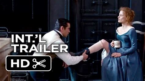 watch miss julie 2014 full movie official trailer miss julie norwegian trailer 2014 jessica chastain colin farrell drama hd youtube
