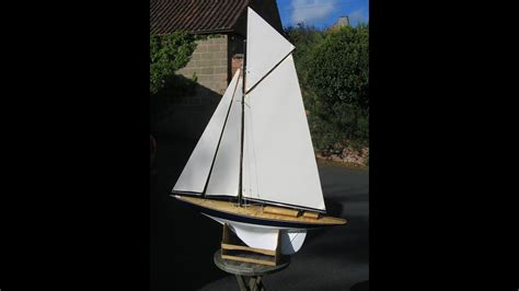 radio controlled model boats youtube j class rc yachts youtube