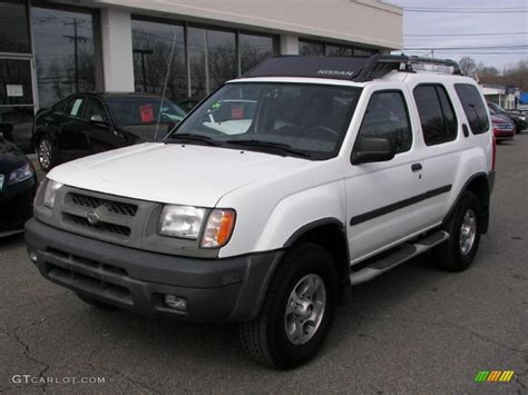 nissan 2000 4x4 cloud white 2000 nissan xterra se v6 4x4 exterior photo