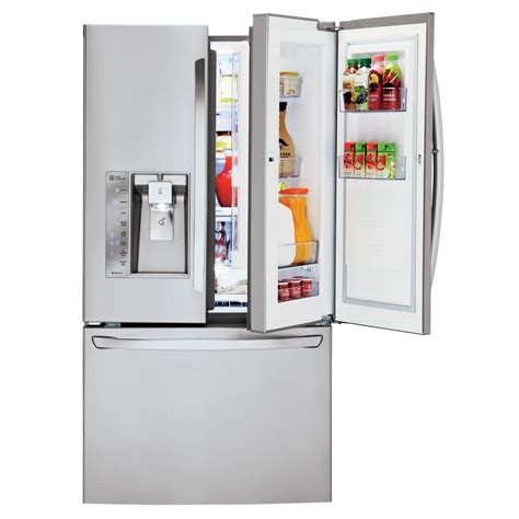 30 in door refrigerator lg electronics 30 cu ft door refrigerator with