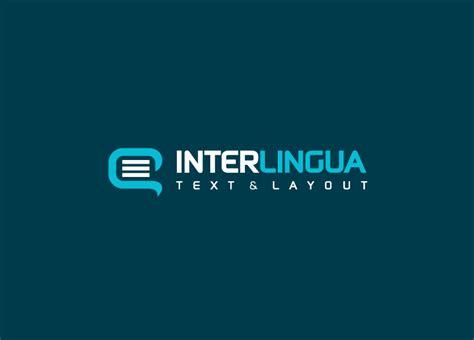 que es layout traduccion dise 241 o de logotipo para interlingua logoestilo