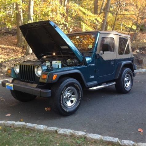 1997 Jeep Wrangler Value Purchase Used 1997 Jeep Wrangler Se Sport Utility 2 Door 2