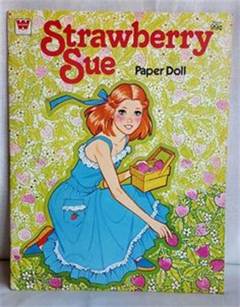 paper dolls book five books vintage paper doll book strawberry sue by lapequenatienda