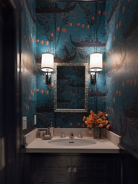 wallpaper for small dark room 25 best ideas about chinoiserie wallpaper on pinterest