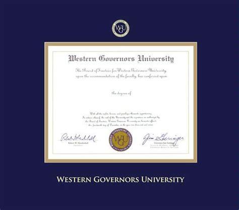 Wgu Mba Work by Custom Diploma Frames Certificate Frames Framing
