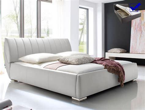 bett mit schubladen 180x200 weiß wandfarbe schlafzimmer feng shui