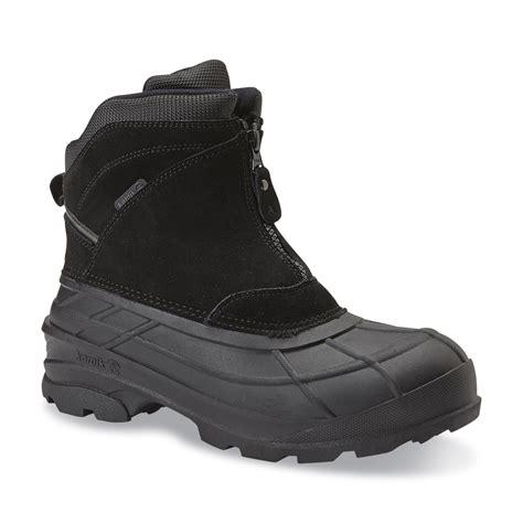 kamik s chlain 6 quot black winter snow boot