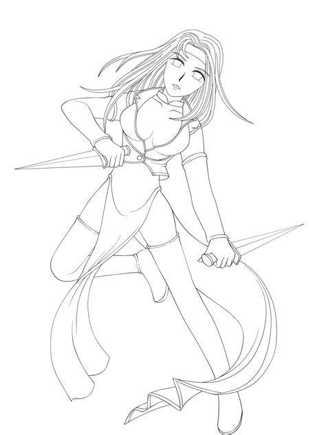 Cute Anime Cat Girl Coloring Pages Hot Girls Wallpaper Anime Warrior Coloring Pages